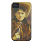 Cowgirl Outlaw iPhone 4 Case-Mate Barely There