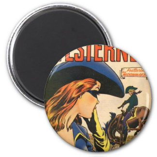 Cowgirl Outlaw Magnet