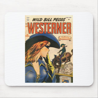 Cowgirl Outlaw Mouse Pad