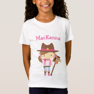 Cowgirl personalized t-shirt