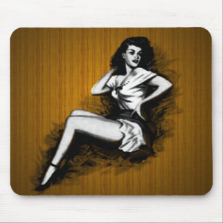 Cowgirl Pinup Mousepad