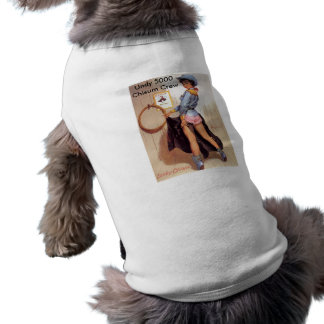 Cowgirl pinup pet shirt