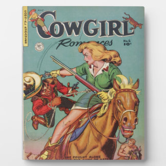 Cowgirl Plaque