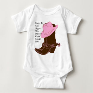 Cowgirl Princess Baby Bodysuit