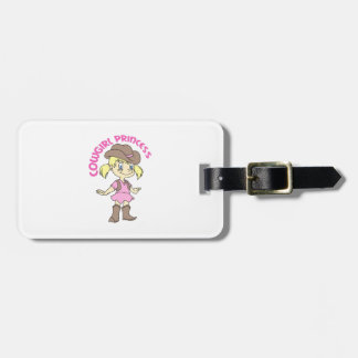 COWGIRL PRINCESS TAG FOR BAGS