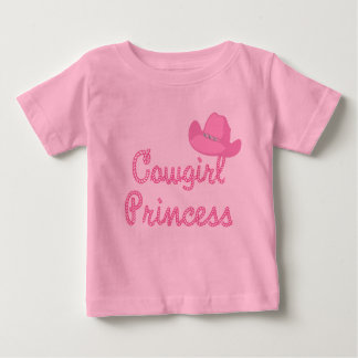 Cowgirl Princess With Pink Hat Shirts