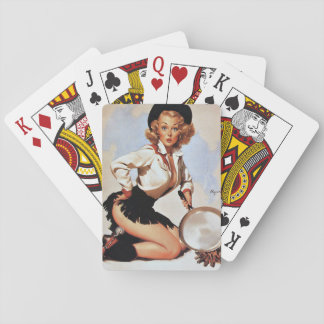 Cowgirl Retro Pinup Deck Of Cards