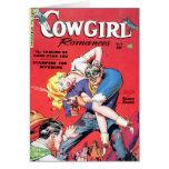 """Cowgirl Romances #5"" Card"