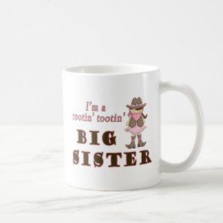 Cowgirl Rootin Tootin Big Sister Coffee Mug