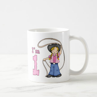 Cowgirl Roper 1st Birthday Coffee Mug