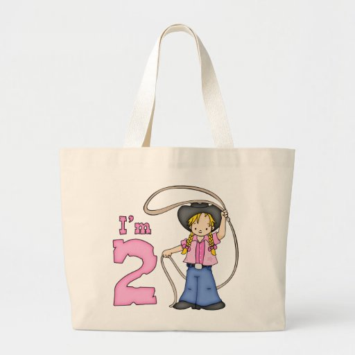 Cowgirl Roper 2nd Birthday Bags