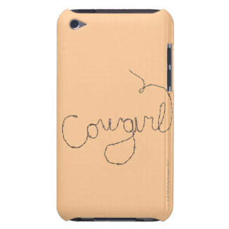 Cowgirl Sign Case-Mate iPod Touch Case