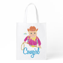 Cowgirl Simple Tote (caucasian)