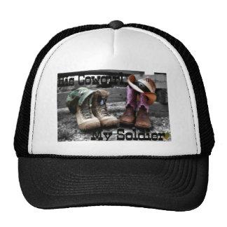 Cowgirl Soldier Trucker Hats