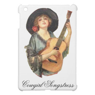 Cowgirl Songstress IPad Case