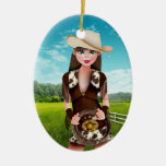 Cowgirl - SRF Ornament