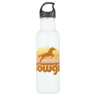 Cowgirl Stainless Steel Water Bottle