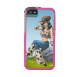 Cowgirl Tipping Her Cowboy Hat Illustration iPhone 5/5S Cover