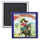 Cowgirl Tobacco Magnet