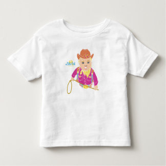 Cowgirl Toddle T-Shirt (caucasian)