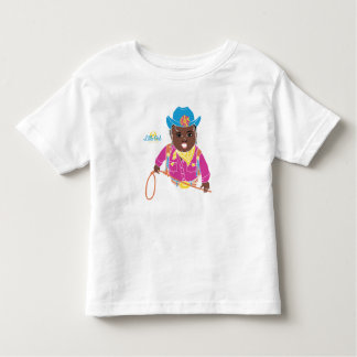 Cowgirl Toddler T-Shirt (black)