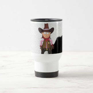 Cowgirl Travel Mug
