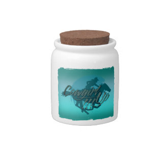 Cowgirl Up!!! 2 Candy Jar