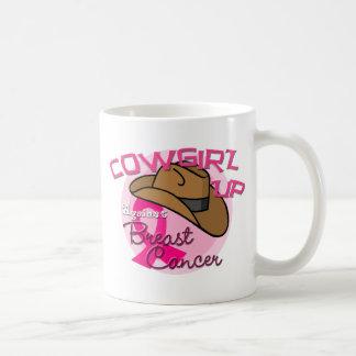 Cowgirl Up Against Breast Cancer Coffee Mug