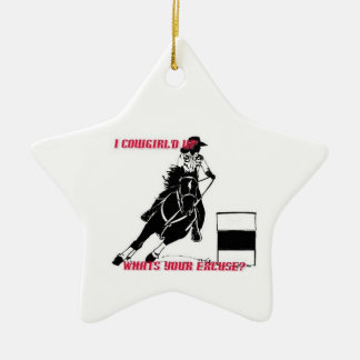 Cowgirl Up Ornament