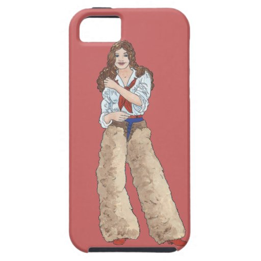Cowgirl Walking After Midnight iPhone 5 Cover