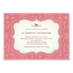 Cowgirl Western Baby Shower invitations