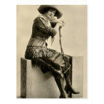 Cowgirl With Fringe Post Cards