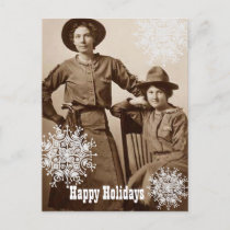 Cowgirls and Snowflakes Holiday Wishes