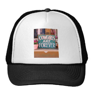 Cowgirls Are Forever Hat