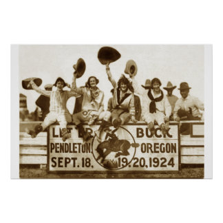 Cowgirls At The Round-Up Posters