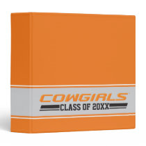 Cowgirls Class Year 3 Ring Binder