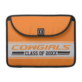 Cowgirls Class Year Sleeve For MacBooks