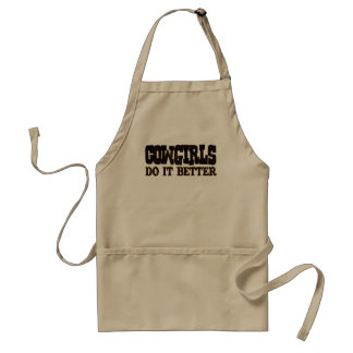 Cowgirls Do it Better Adult Apron