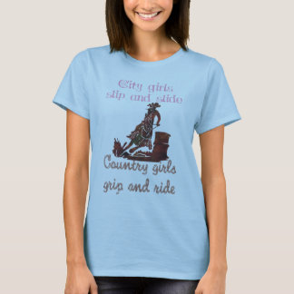 Cowgirls grip and ride T-Shirt