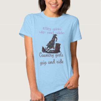 Cowgirls grip and ride tshirt