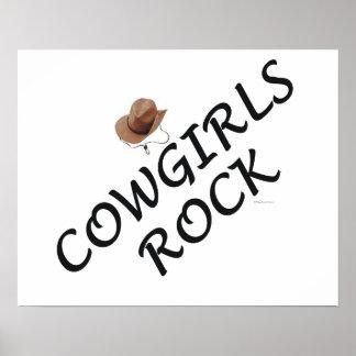 Cowgirls Rock Print