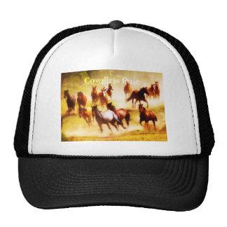 Cowgirls Rule Hats