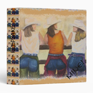 COWGIRLS TIME-OUT BINDER