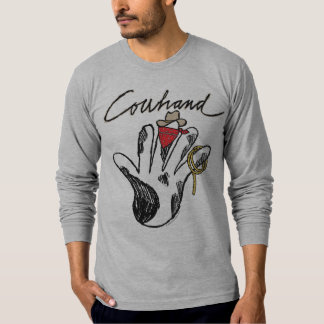 Cowhand American Apparel Long Sleeve(Fitted) T-Shirt