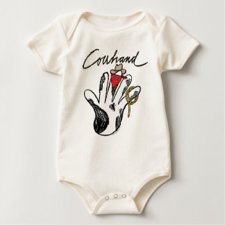 Cowhand Infant Organic Creeper