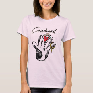 Cowhand Ladies Baby Doll(fitted) T-Shirt