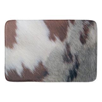 Cowhide Bathroom Mat