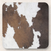 Cowhide Coaster