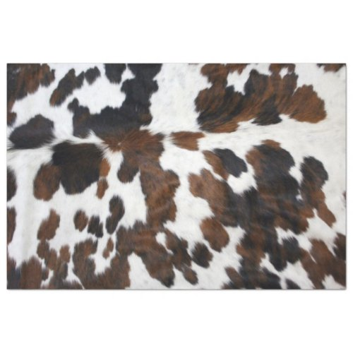 Cowhide Decoupage Paper