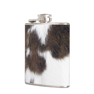 Cowhide Hip Flask